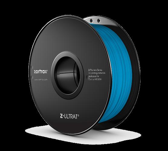 Abverkauf: Zortrax Z-ULTRAT Filament Neon Blue 0,8kg 1,75mm