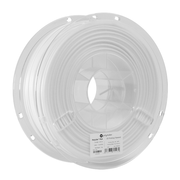 Polymaker PolyLite PLA Filament True White 1,75mm 1000g