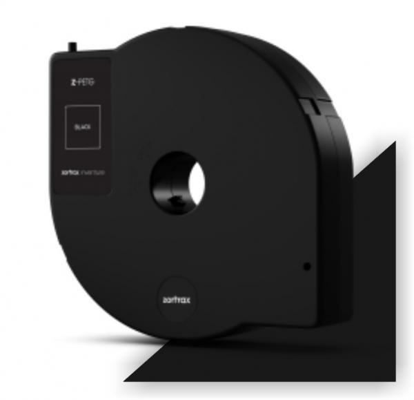 Abverkauf: Zortrax Z-PETG Filament Pure Black 350g Cartridge