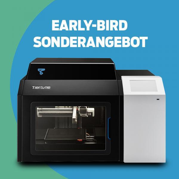 Early-Bird-Angebot: TIERTIME X5 3D-Drucker