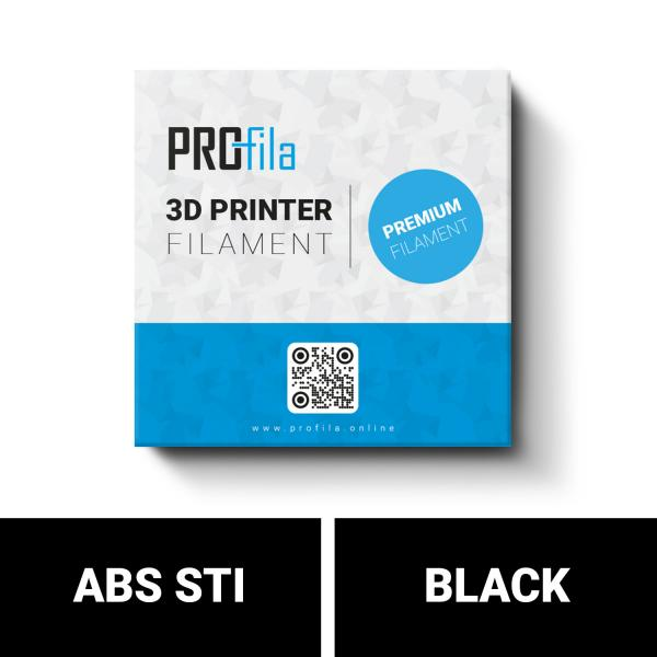ProFila ABS STI black 1,75mm 1000g