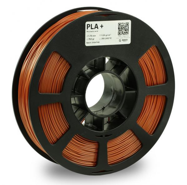 Kodak PLA + Kupfer 3D-Filament 1,75 / 2,85mm 750g Pantone 876 C