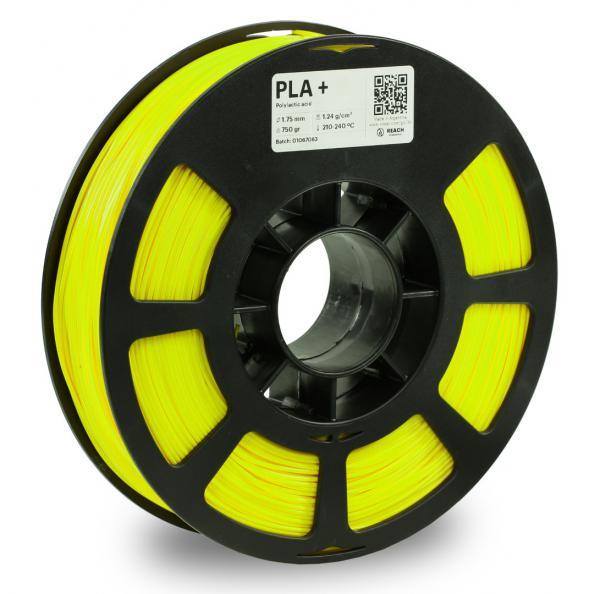 Kodak PLA + Neongelb 3D-Filament 1,75 / 2,85mm 750g Pantone 809 C
