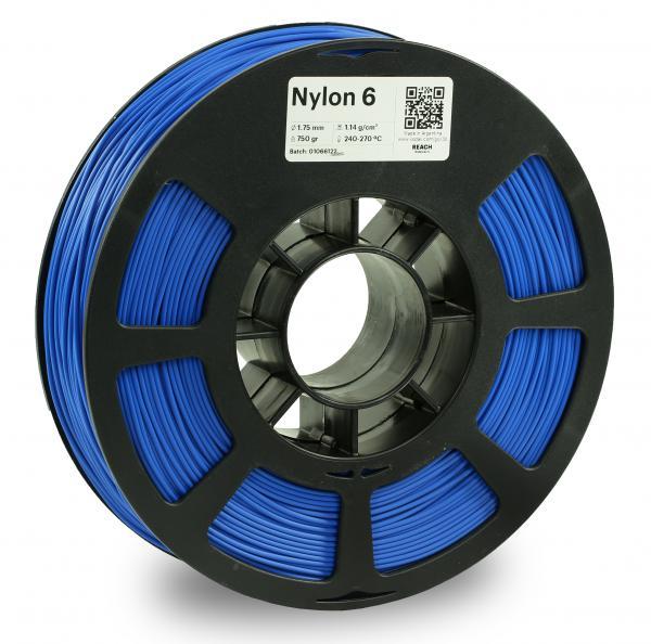 Kodak Nylon 6 Blau 3D-Filament 1,75 / 2,85mm 750g PA6 / PA66 Pantone 2935C