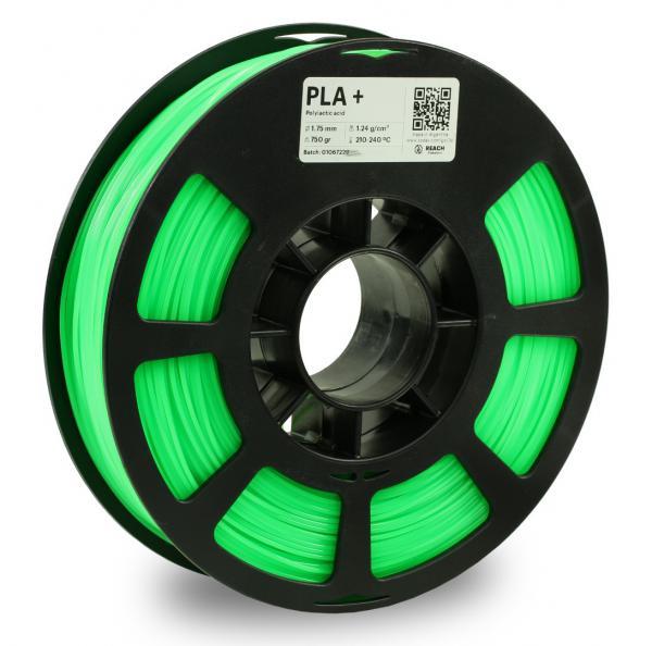 Kodak PLA + Neongrün 3D-Filament 1,75 / 2,85mm 750g Pantone 802C